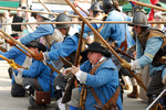 English Civil War Royalist Musketeers and Pikemen