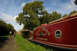 Jolly Roger narrowboat, Market Harborough
