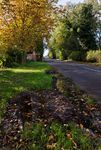 Leicester Lane, Great Bowden in autumn