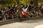 Horseback riding demonstration, Korean Folk Village
