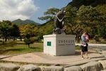Seoraksan National Park Korean Moon Bear Statue