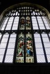 Stained glass window, Priory Church