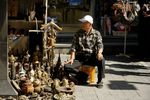 Antiques street seller, Insadong