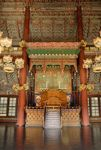 Throne in Injeongjeon, Changdeokgung palace