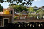 View east from Changdeokgung secret garden