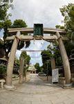 Namba Yasaka Jinja entrance gate