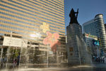 Kyobo Life Insurance Building & Yi Sun-sin Statue