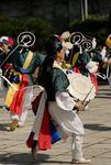 Pungmul Janggu Drummer