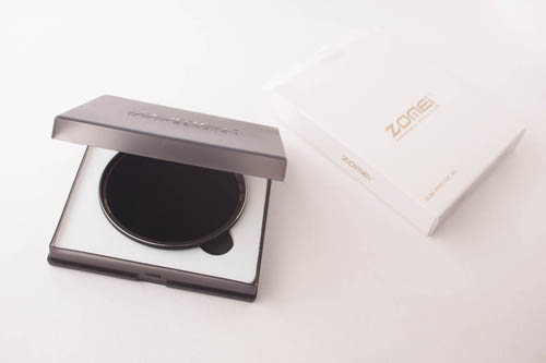 Zomei Slim Pro II MC ND filter with case and box