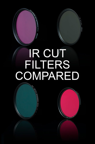 IR cut filters compared
