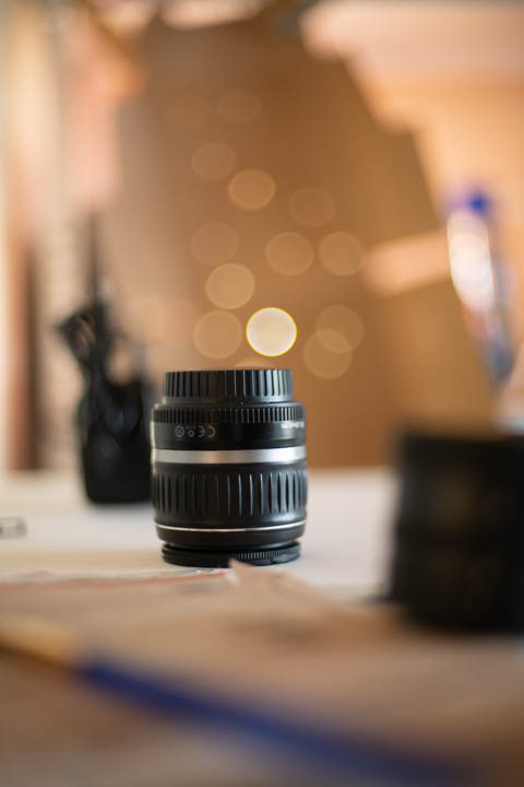 Photo taken with 50mm/1.4 lens at f/1.4