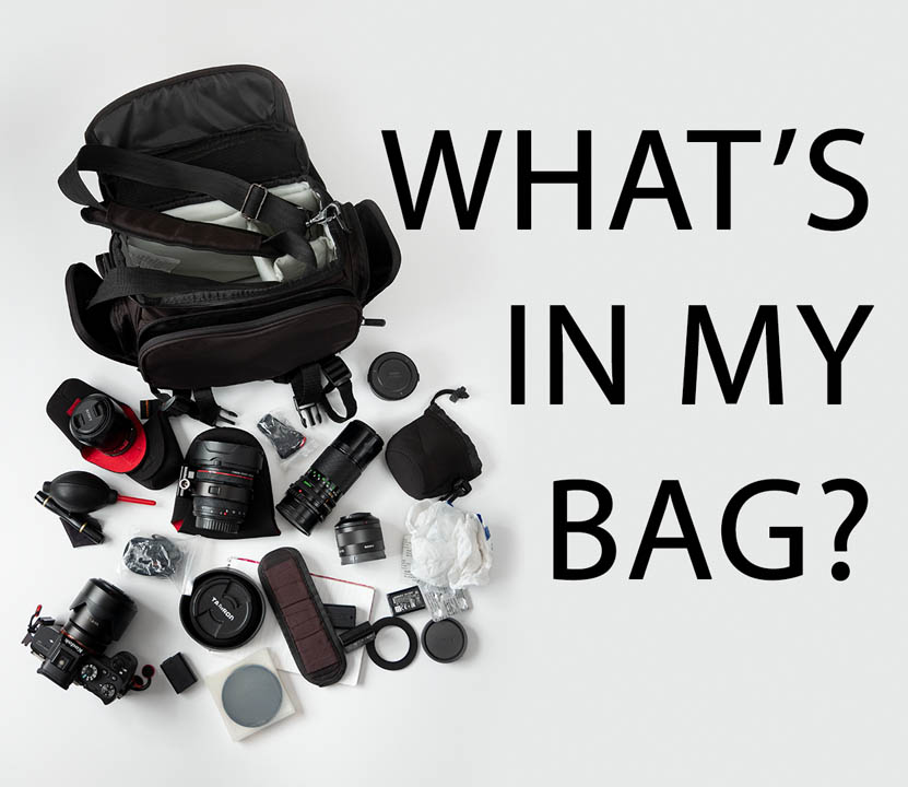 What's in my bag? (Nov 2018)