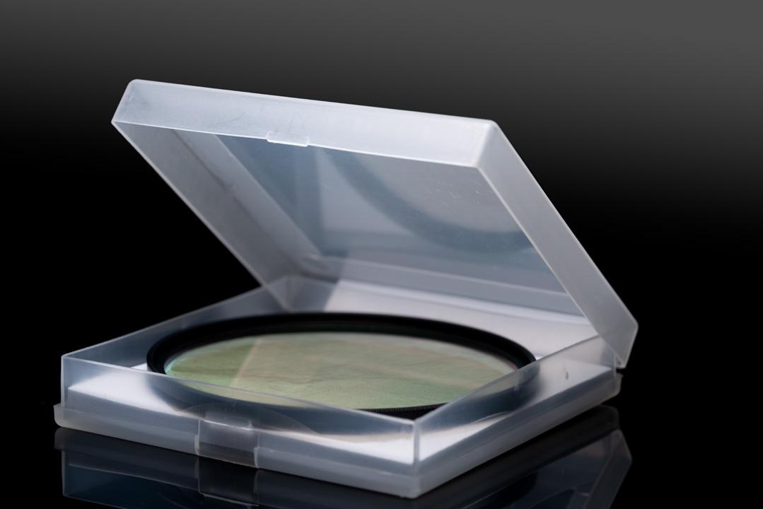 SLR Magic Image Enhancer Pro filter in supplied plastic case