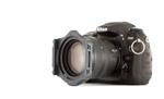 Nikon D200 with Cokin P filter holder