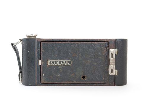 Kodak 1A Pocket Jr. folding bellows camera closed