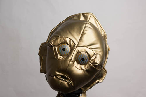 C-3PO bag photographed using the 80cm / 32in octa umbrella softbox