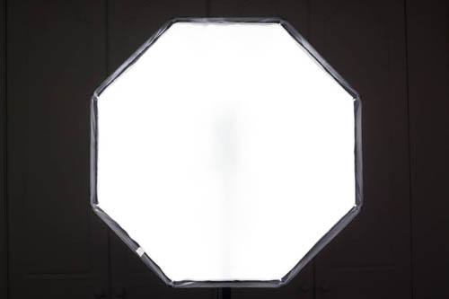 Octa umbrella softbox front panel illumination using flash near the back of the umbrella with end of umbrella shaft sawn off and with +2 stops exposure compared to most of the other shots