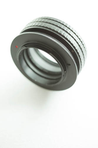 17-31mm M42 focusing helical attached to DIY Fuji X to M42 mount adapter