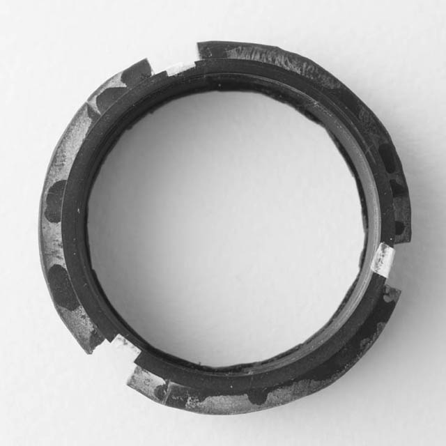 Top view of the DIY Lensbaby M39 mount optic adapter