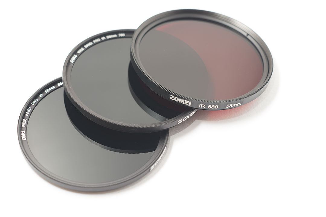Zomei 850nm 760nm And 680nm Infrared Filters In 58mm Size