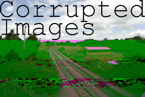 Corrupted images